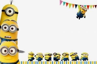 inviti compleanno minions