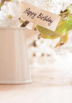 Auguri di buon compleanno 1 - Fantastico Cartoline Di Buon Compleanno Con Fiori