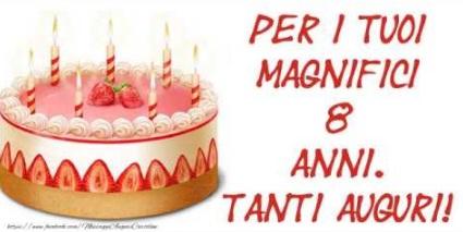 auguri di buon compleanno bambina 8 anni -invitoelegante.com
