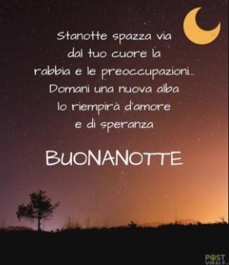 Frasi Per La Buonanotte Per Lui - Buonanotte Amore Mio Con Aforisma