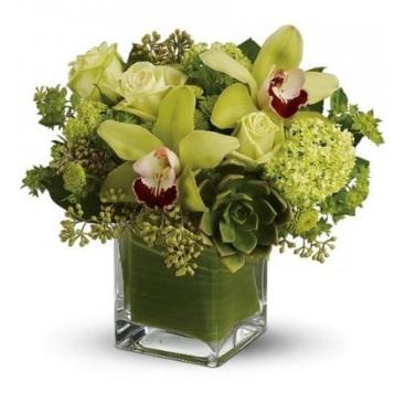 fiori in vasi di vetro - Composizioni Floreali Per Compleanni