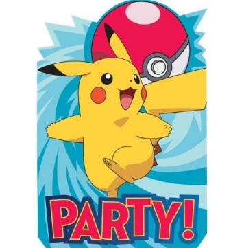 inviti compleanno pokemon da stampare