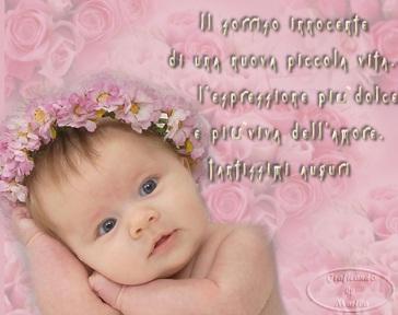 5 42 - Auguri Simpatici Per La Nascita Di Una Bambino