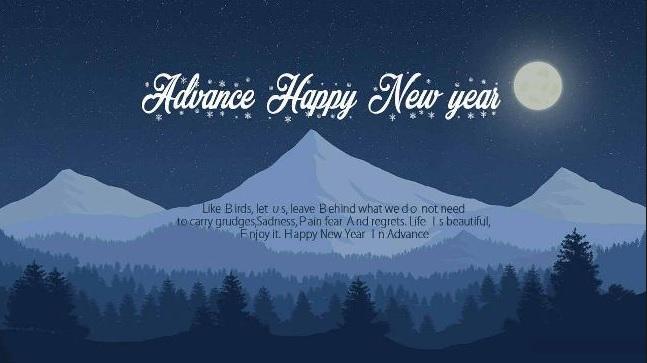 buon anno nuovo anche te inglese
