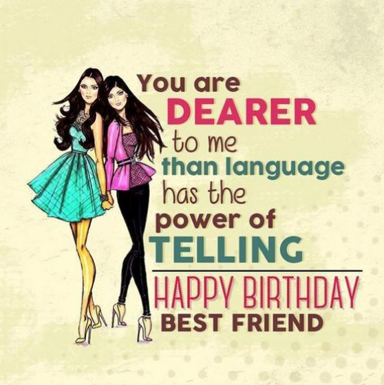 Funny Birthday Wishes For Best Friend Girl