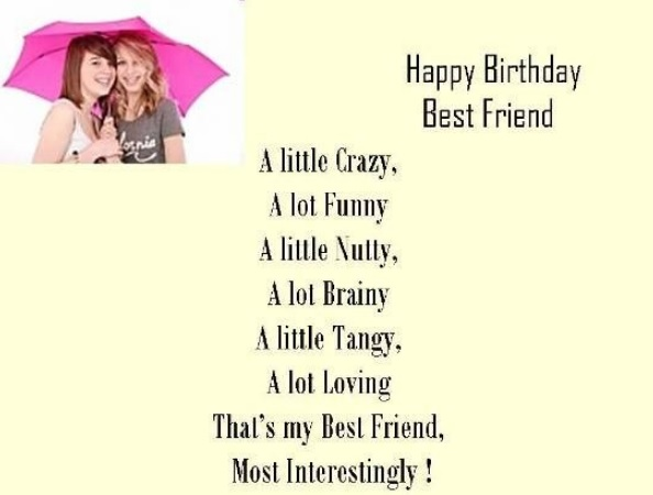 Birthday Wishes For Best Friend Girl Funny Quotes Archives Invito