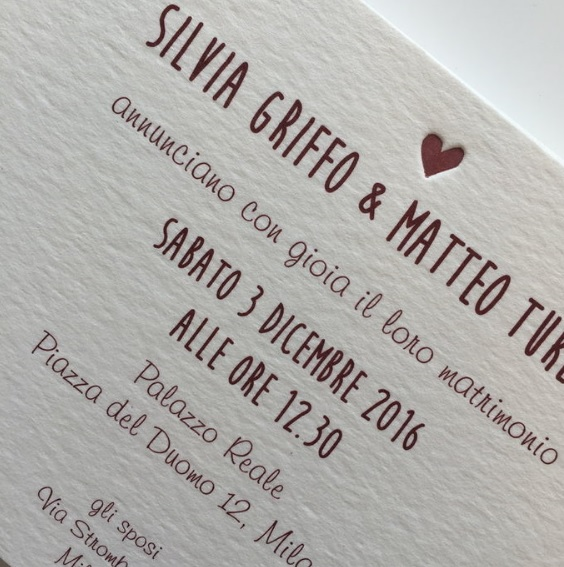 testo invito matrimonio civile