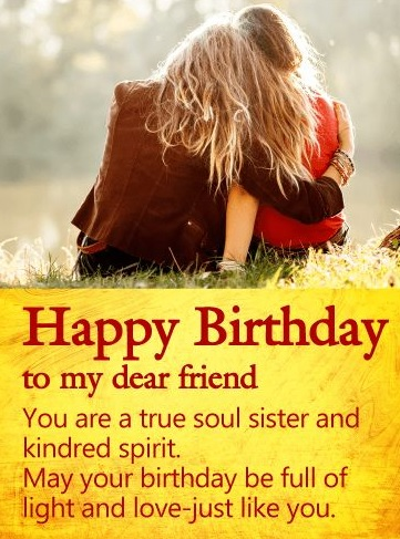 Birthday Wishes For Best Friend Like Sister - Birthday Wishes For Best Friend