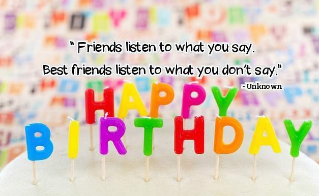 Birthday Wishes For Best Friend - Birthday Wishes For Best Friend