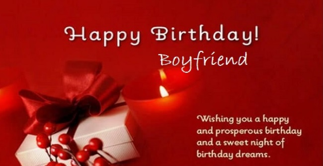 Birthday Wishes For Lover Boy In English