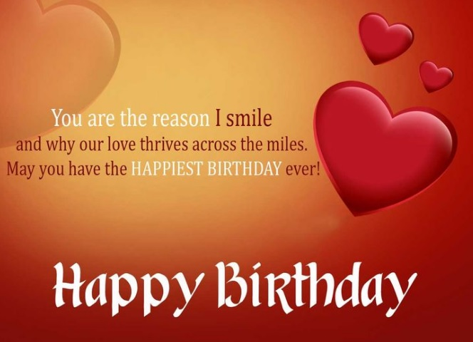 Birthday Wishes For Lover Quotes