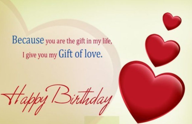 Birthday Wishes For Lover - Birthday Wishes For Lover