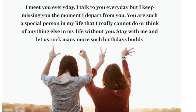 Birthday Wishes For Best Friend Emotional — TTCT