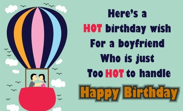Happy Birthday Card Message For Boyfriend - Happy Birthday Card Message