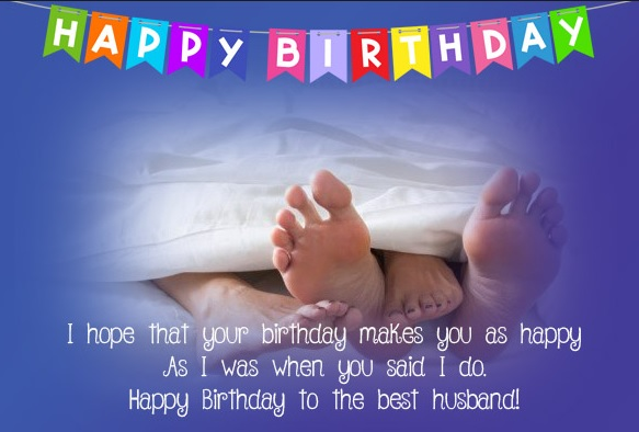 Happy Birthday Card Message For Husband - Happy Birthday Card Message