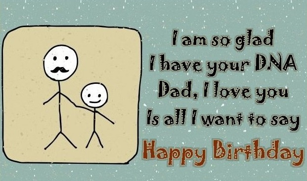 Happy Birthday Card Messages For Dad - Happy Birthday Card Message