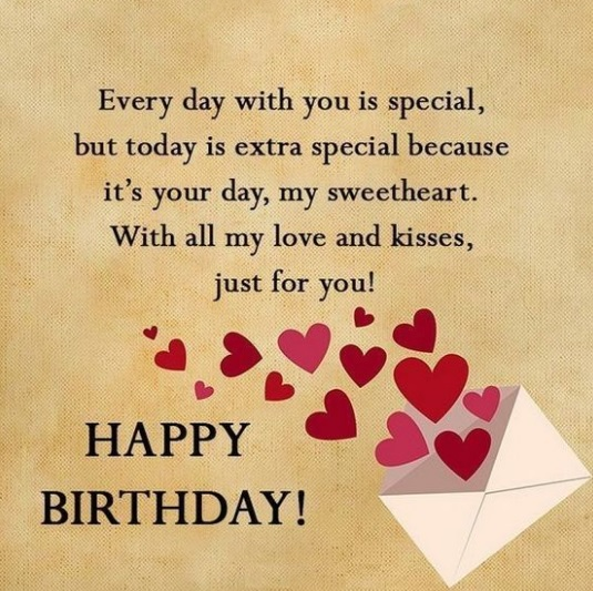Happy Birthday Quotes For Lover - Happy Birthday Quotes