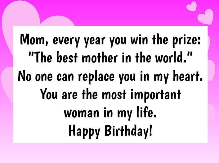 Happy Birthday Quotes For Mom That Will Make Her Cry