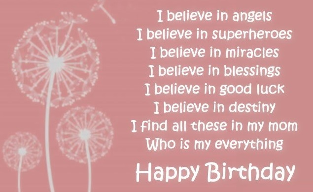 Happy Birthday Quotes For Mom - Happy Birthday Quotes