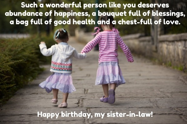 Happy Birthday Quotes Sister In Law