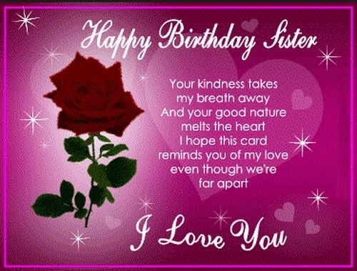 Happy Birthday Sister Quotes Islamic
