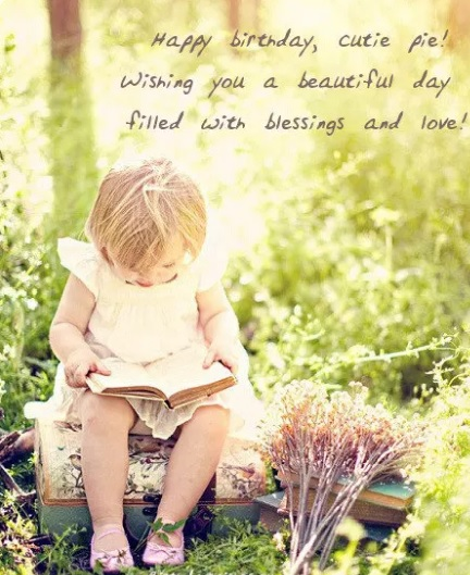 Happy Birthday Wishes Quotes For Little Girl