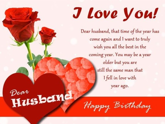 Lovely Birthday Messages For Husband - Lovely Birthday Messages