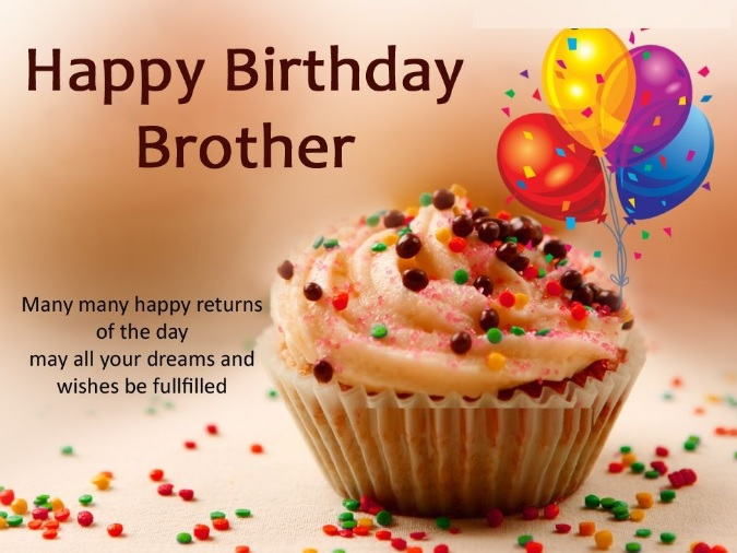 Nice Birthday Wishes For Brother - Nice Birthday Wishes