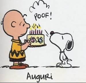 Vignette Compleanno Snoopy - Vignette Compleanno