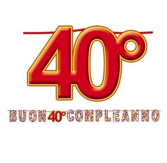 Auguri Di Compleanno 40 Anni Simpatici - Auguri Di Compleanno 40 Anni