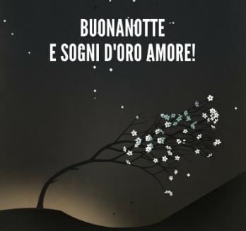 Buona Notte E Sogni D'oro Amore