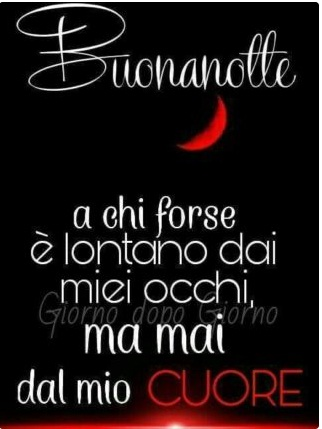 Buonanotte Con Il Cuore Frasi - Buonanotte Con Il Cuore; Messaggio Che Tocca Il Cuore