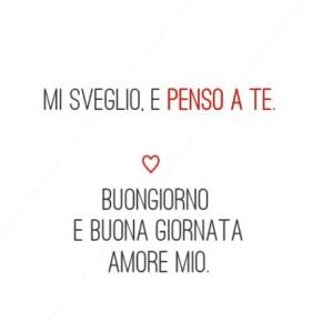Buongiorno Amore Mio Lettera